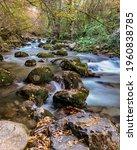 long exposure smooth flowing...   Shutterstock . vector #1960838785
