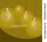 world intellectual property day ... | Shutterstock .eps vector #1960912465