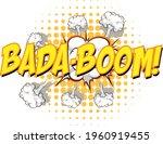 comic speech bubble with bada... | Shutterstock .eps vector #1960919455