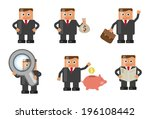 businessman in various...