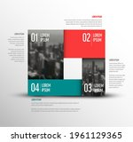 vector simple infographic...   Shutterstock .eps vector #1961129365