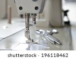 sewing machine  | Shutterstock . vector #196118462
