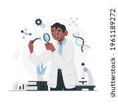 biotechnology concept. biology  ...   Shutterstock .eps vector #1961189272
