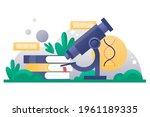 biotechnology concept. biology  ...   Shutterstock .eps vector #1961189335