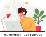 biotechnology concept. biology  ...   Shutterstock .eps vector #1961189398