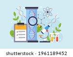 biotechnology concept. biology  ...   Shutterstock .eps vector #1961189452