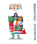world day for cultural...   Shutterstock .eps vector #1961349808