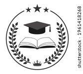 illustration of black student... | Shutterstock . vector #1961418268
