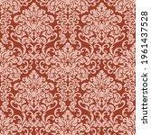 seamless damask pattern in... | Shutterstock .eps vector #1961437528