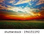 green field | Shutterstock . vector #196151192