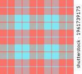 easter tartan plaid. scottish...   Shutterstock .eps vector #1961739175