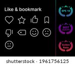 like  bookmark modern line icon ...