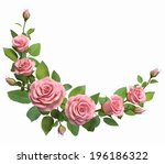 Rounded Border With Roses...