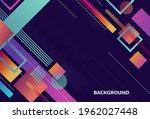geometric background design ...   Shutterstock .eps vector #1962027448