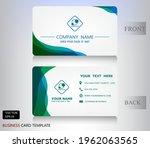 modern business name card... | Shutterstock .eps vector #1962063565