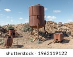 Old Rusty Mining Machinery...