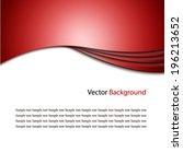 abstract light vector... | Shutterstock .eps vector #196213652