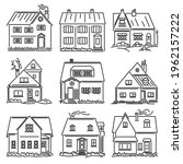 Set Of Simple Vector Images Of...