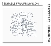 friluftsliv line icon. hiking.... | Shutterstock .eps vector #1962223618