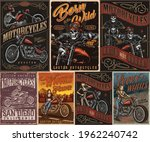 custom motorcycle vintage...   Shutterstock .eps vector #1962240742