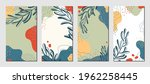 botanical art. abstract organic ... | Shutterstock .eps vector #1962258445
