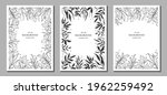 botanical art. floral vector... | Shutterstock .eps vector #1962259492