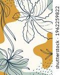 botanical  art. abstract... | Shutterstock .eps vector #1962259822