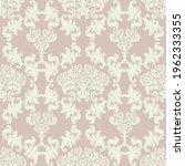seamless damask pattern in... | Shutterstock .eps vector #1962333355