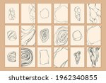 set of stones with edges ...   Shutterstock .eps vector #1962340855