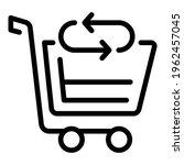 Cart Return Shopping Icon....
