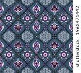 italian majolica tile.... | Shutterstock .eps vector #1962471442