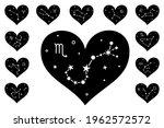 constellation  stars and zodiac ...   Shutterstock .eps vector #1962572572