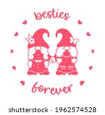 funny best friends design with...   Shutterstock .eps vector #1962574528