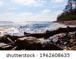 Beautiful Seascape. Big Rocks...