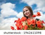 Young Happy Ukrainian Woman...