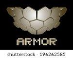 hard armor | Shutterstock .eps vector #196262585