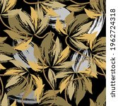 textured grunge floral seamless ... | Shutterstock .eps vector #1962724318