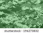 Background Of Green Digital...