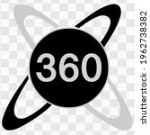 360 logo icon. three hundred...