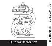 traveling  outdoor recreation ... | Shutterstock .eps vector #1962834778
