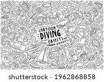 line art vector hand drawn... | Shutterstock .eps vector #1962868858