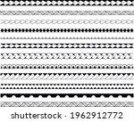 set of vector ethnic seamless...   Shutterstock .eps vector #1962912772