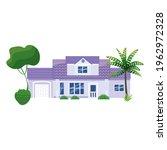 mansion residential home... | Shutterstock .eps vector #1962972328