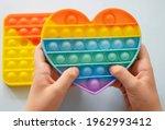 Colorful antistress sensory toy ...