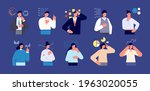 business characters think.... | Shutterstock .eps vector #1963020055