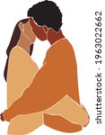 lesbian couple abstract...   Shutterstock .eps vector #1963022662