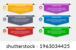 paper ribbon tabs. text labels... | Shutterstock .eps vector #1963034425