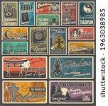 religious vector vintage...   Shutterstock .eps vector #1963038985