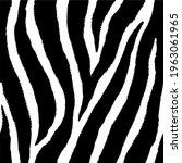 seamless pattern of zebra skin...   Shutterstock .eps vector #1963061965