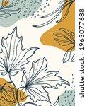 botanical  art. abstract... | Shutterstock .eps vector #1963077688